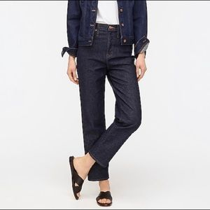 J.Crew High Rise Stove Pipe Jeans Structured AL412